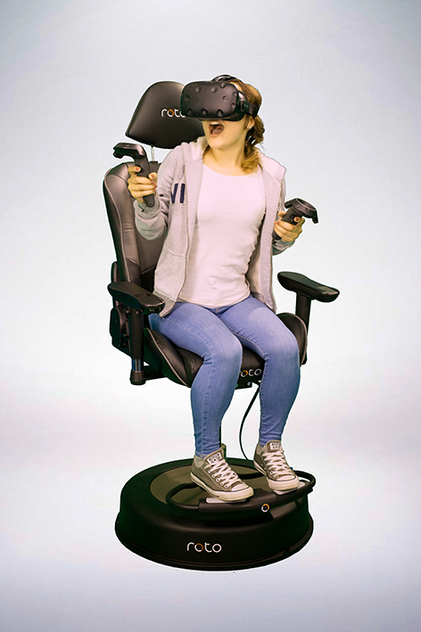 Roto VR chair with HTC Vive