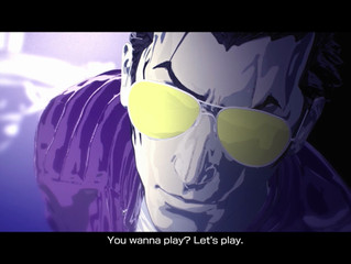 "Travis ""Strikes Back"" in Travis Strikes Again: No More Heroes Complete Edition on PlayStation®4 and"