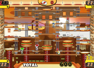 Master Chefs Assemble! BurgerTime Party! Launches 8th October 2019 on Nintendo Switch™