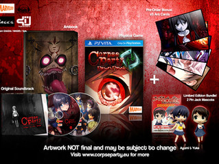 Get warmed up for Halloween with spooktacular 'Corpse Party: Blood Drive', creeping onto PlayStation