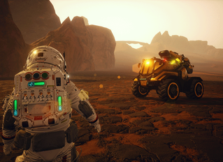 Spend Xmas on the Red Planet in JCB Pioneer: Mars launching for Nintendo Switch 24th December, 2018