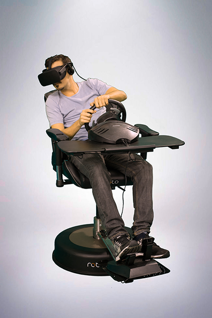 Roto VR Chair with racing