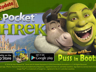 Major 'Pocket Shrek' update for iOS and Android devices launches today!