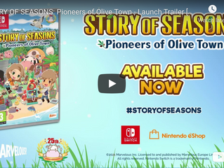 STORY OF SEASONS: Pioneers of Olive Town launches on Switch today!