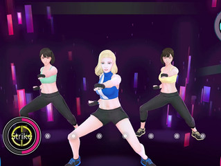Move to the Rhythm and Improve your fitness with KNOCKOUT HOME FiTNESS on Nintendo Switch™