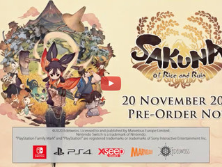 Sakuna: Of Rice and Ruin Digital Limited Edition Details Announced for PlayStation®4
