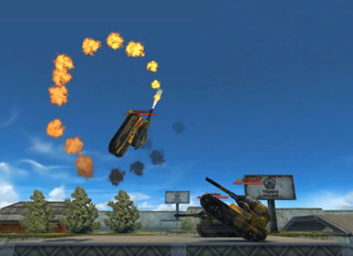 After you're done blasting enemies in Tanki Online, take the game to the next level with crazy Park