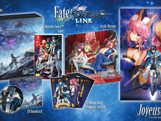 Fate/EXTELLA LINK Now Available for Nintendo Switch™, PlayStation®4, and PlayStation® Vita within Eu