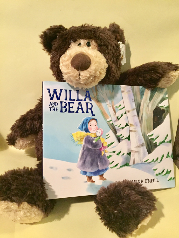 Win a Book and a Bear!