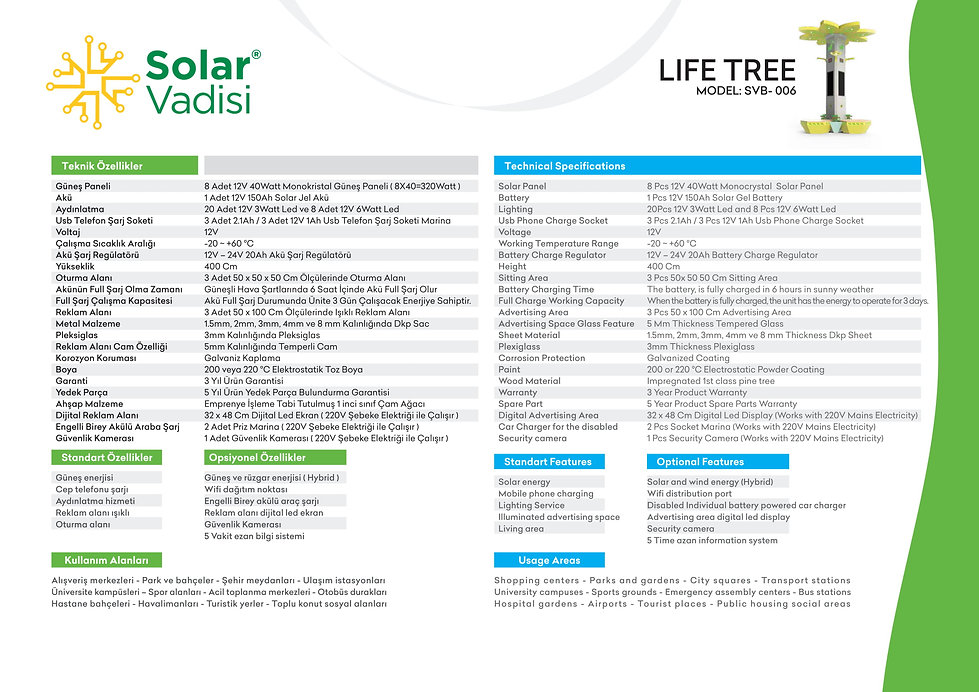 smart bench, solar şarj bank, solar tree,solarvadisi,solar vadisi