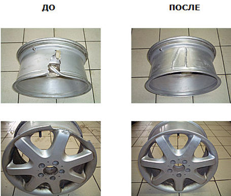 аргонная сварка,ремонт дисков