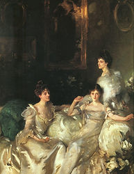 The Wyndham Sisters by John Singer Sarge