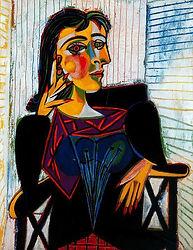 Portrait of Dora Maar - Pablo Picasso.jp