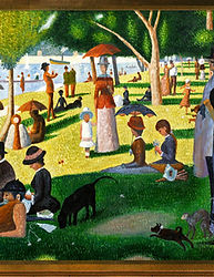Georges-Pierre Seurat's A Sunday Afterno