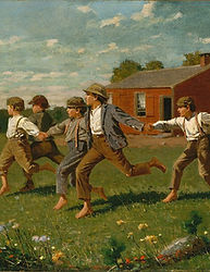 winslow homer snap the whip.jpg