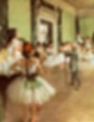 La classe de danse (The Dancing class).j