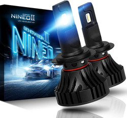 NINEO H7 LED Headlight Bulbs | CREE Chip
