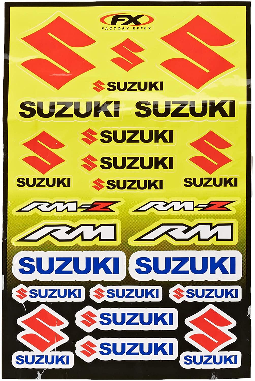 SUZUKI STICKERS by FACTORY EFFEX