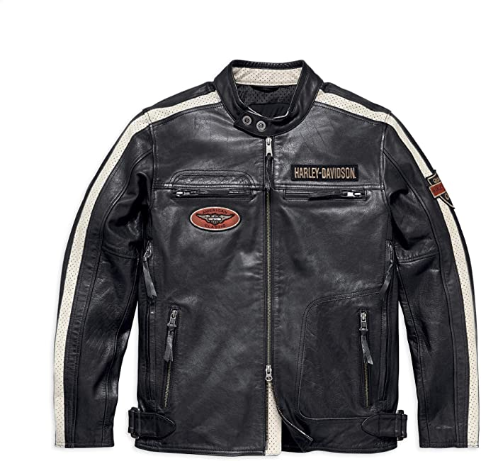 Harley-Davidson Men's Command Leather Ja