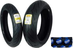 Motorcycle Tires by: Pirelli / Diablo Rosso III Front & Rear