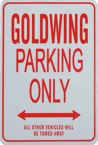 Goldwing Parking ONLY - Miniature Fun Pa