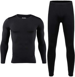 HEROBIKER Mens Thermal Underwear Set Ski