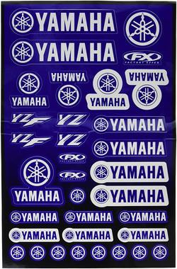 YAMAHA UNIVERSAL FACTORY FX STICKERS