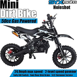 SYX MOTO Kids Mini Dirt Bike Gas Power 2