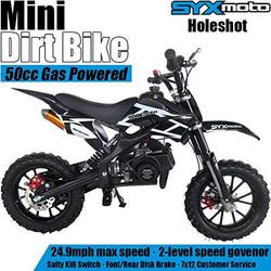 SYX MOTO Kids Mini Dirt Bike Gas Power 2