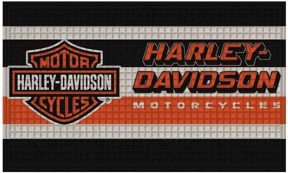 Harley-Davidson Embossed Bar & Shield Lo