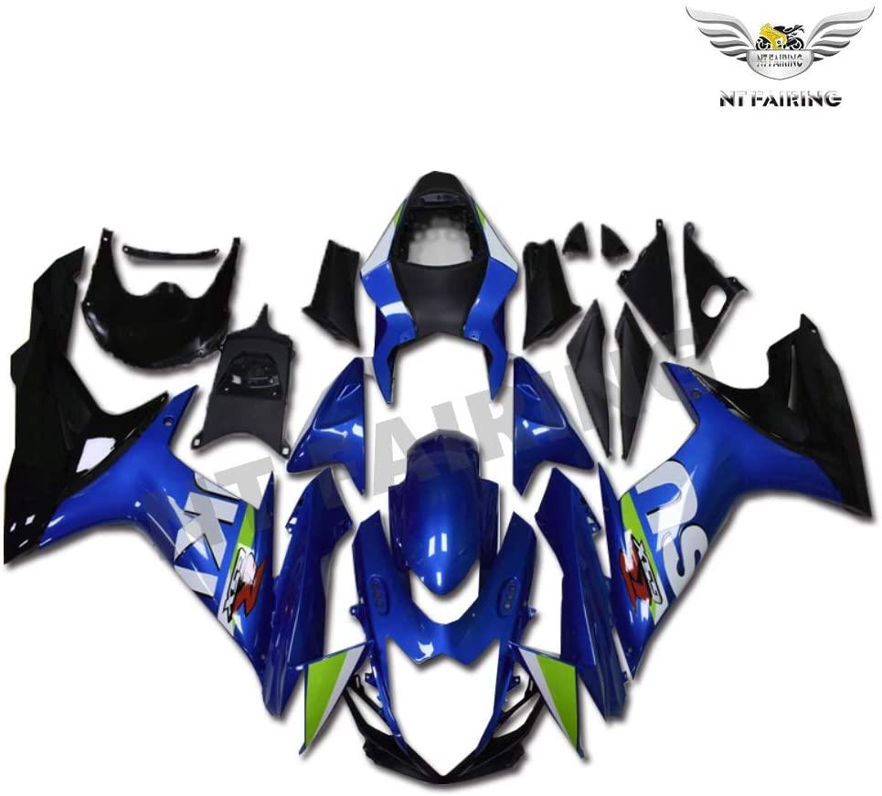 Fairing Blue Black Fit for SUZUKI 2011-2