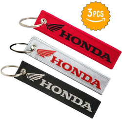 LUUS 3 Pcs in Set Keychain Double Sided