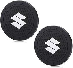 Shum Car Coasters-car Accessories, 2.75 inch Auto Cup Silicone Holder Insert Coaster,Anti Slip Car C
