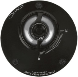 Driven Racing Halo Fuel Cap - Silver:One