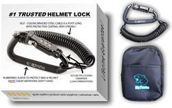 Motorcycle Helmet Lock & Cable