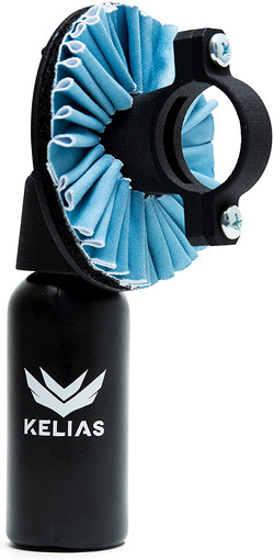 New Motorcycle Accessory for Cleaning Motorcycle Helmet Visor, Face Shield, and Windshield With Conv