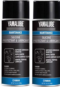 Yamaha ACC-SLCNS-PR-AY Silicone Spray Protectant & Lubricant, Pack of 2 Visit the YAMAHA Store