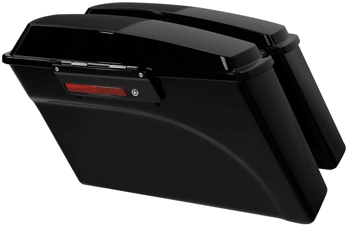 SLMOTO Hard Saddlebags Trunk W: 6x9%22 S