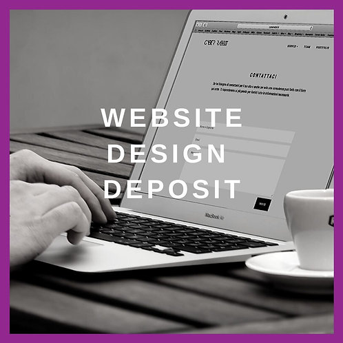 Website Design Deposit
