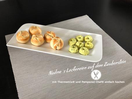 Pizza Brötchen aus der Mini-Muffin-Form Delux