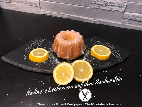 Zitronenküchlein in der Mini-Gugelhupfform