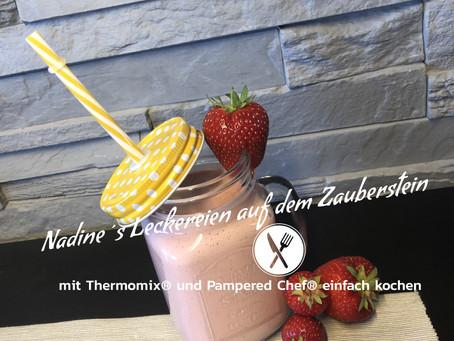 Erdbeer-Eis Shake