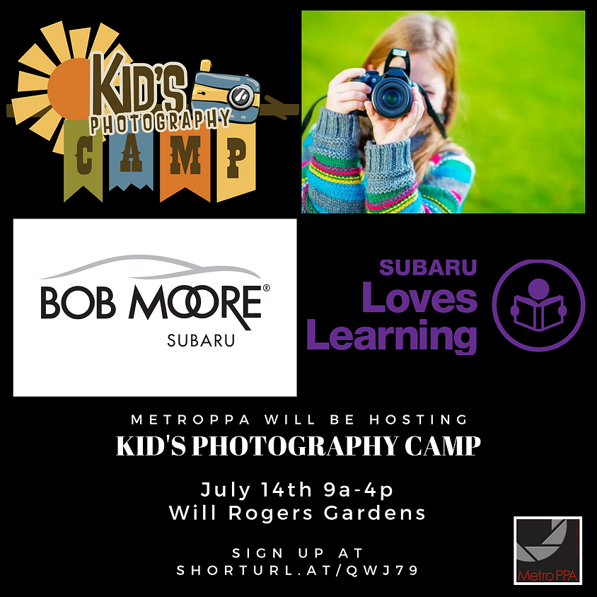Kid's Photography Camp