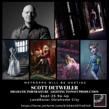 Scott Detweiler - Dramatic Portraiture - Lighting to Post Production