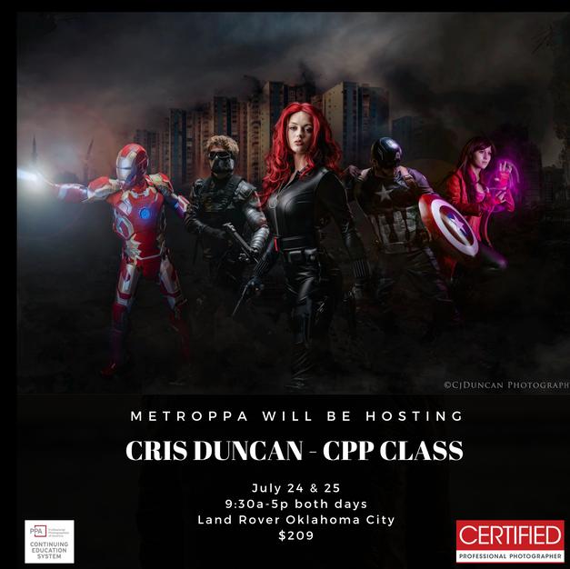 Cris Duncan's CPP Class