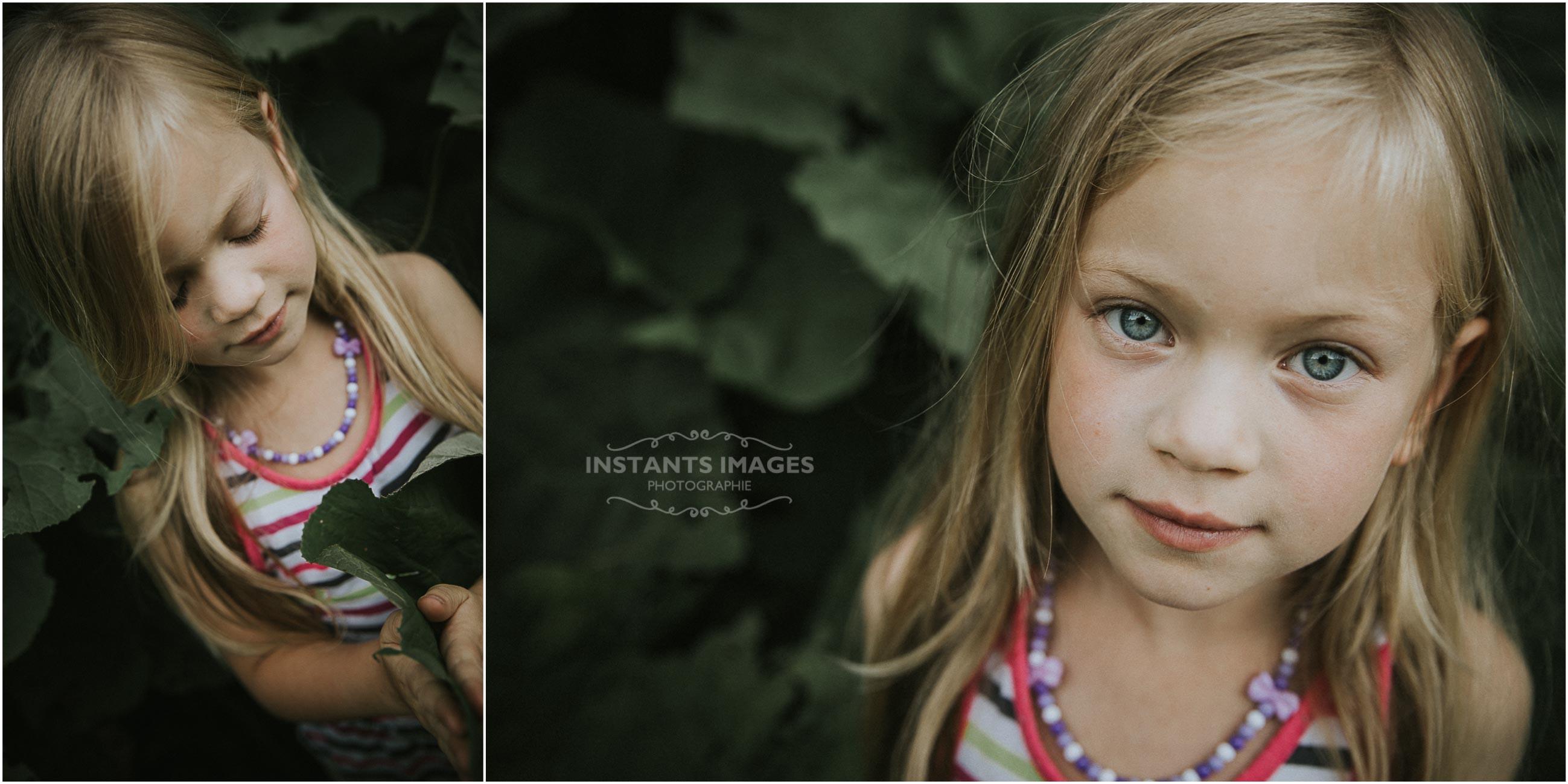 Mini-séance Portraits d'enfant