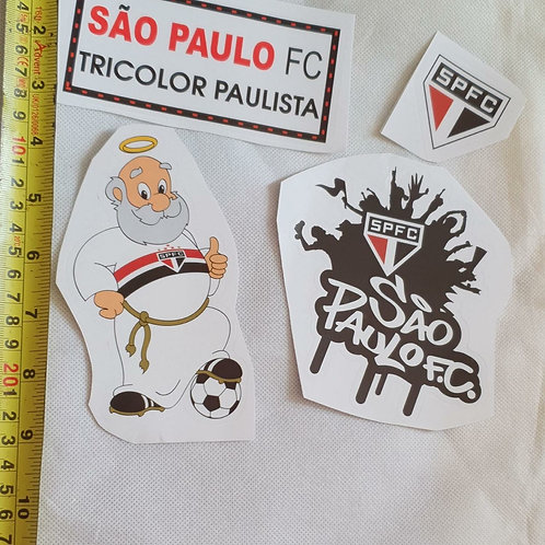 Adesivos para moto do São Paulo