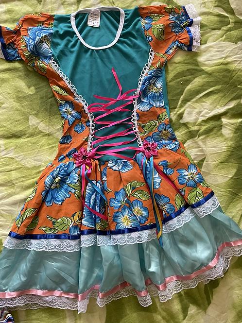 1 Vestido de festa Junina /Junina party dress Size 6 Adult/ Brazilian Product