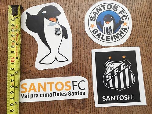 4 Adesivos do Santos