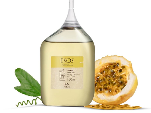 Refil Desodorante Colônia Frescor Maracujá Ekos Feminino - 150ml